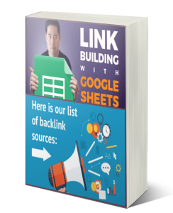 gooble backlink sheet